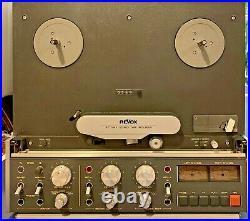 Vintage ReVox B77 MKII Stereo Reel To Reel Tape Recorder