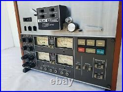 Vintage TEAC A-3340S Reel-to-Reel Tape Recorder in Very Good Condition