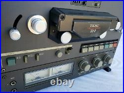Vintage TEAC TASCAM 32-2 10.5inch Reel-to-Reel Tape Deck. Works well