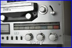 Vintage TEAC X-700R DBX Auto Reverse 7 Reel to Reel Tape Deck for Parts/Repair