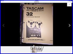 Vintage Tascam model 32 2 track stereo Reel To Reel, JUST SERVICED