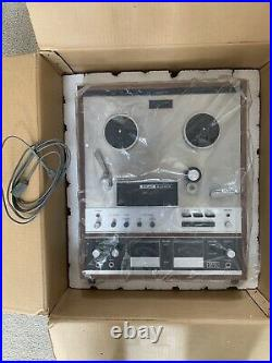 Vintage Teac A-6010 Reel To Reel Tape Deck Player/recorder