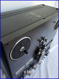 Vintage Technics RS-1506US Reel-to-Reel Tape Deck. Works well