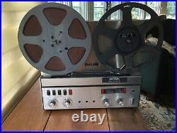 Working revox a77 reel-to-reel tape recorder